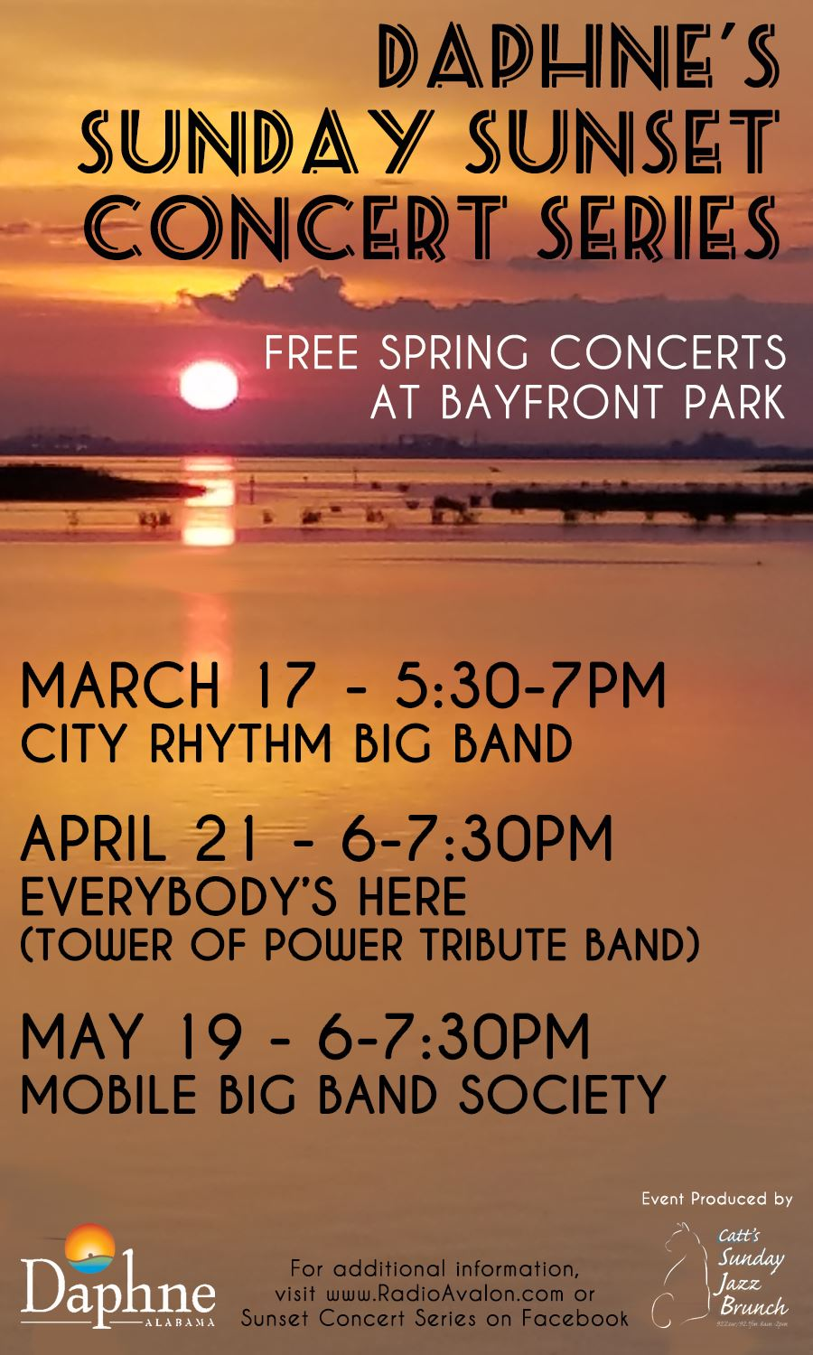 Sunset Concert Series Spring 2019