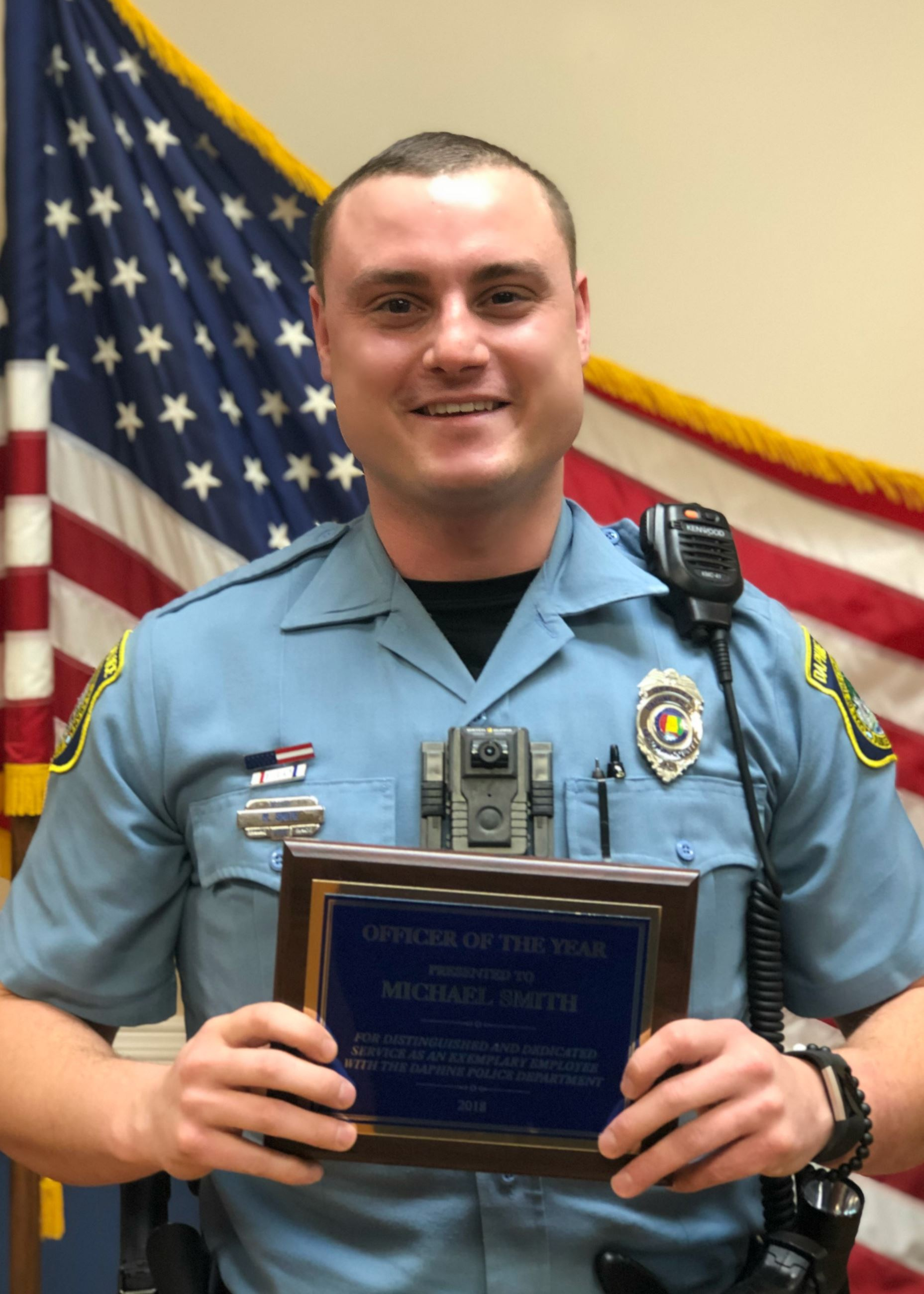 Michael Smith - Officer of the Year 2018